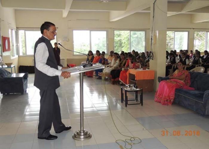 Teachers day celebration 2016